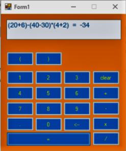 پروژه ماشین حساب به زبان سی شارپ