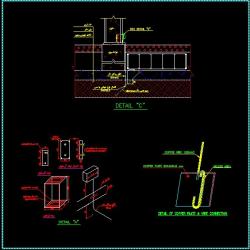 دانلود نقشه جزییات اتصال ارتینگ برق ساختمان